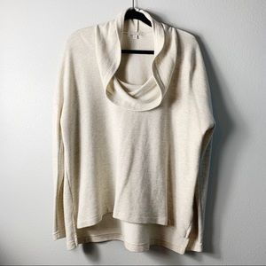 GAP Design & Crafted | Cream Cowl Nect Sweater  XL